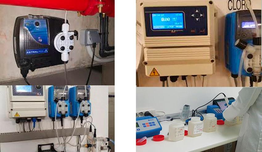 instalación equipos control parametros agua