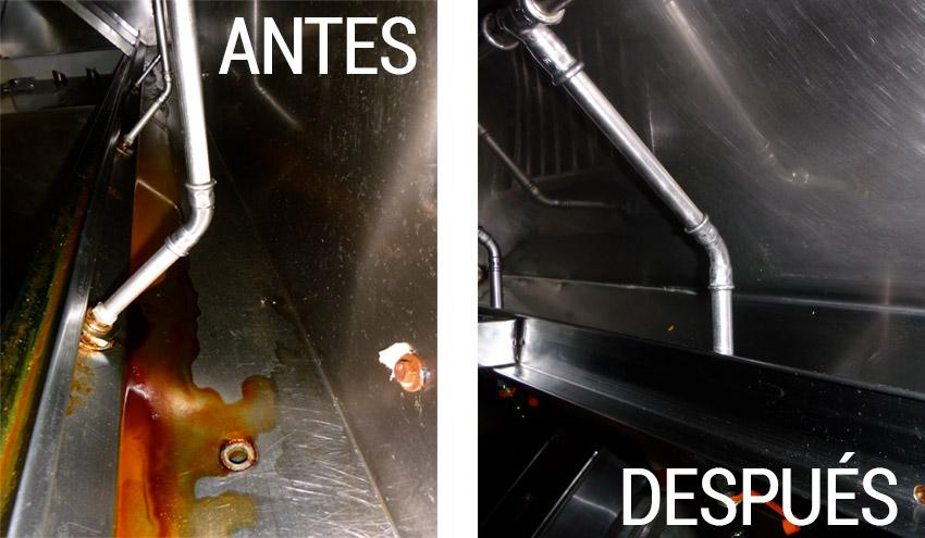 empresa limpieza campanas humos grasa